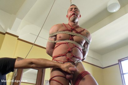 Photo number 7 from Fabio Stallone - Beefy Italian Stallion with Fat Cock  shot for Men On Edge on Kink.com. Featuring Fabio Stallone in hardcore BDSM & Fetish porn.