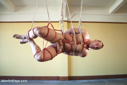 Photo number 8 from Fabio Stallone - Beefy Italian Stallion with Fat Cock  shot for Men On Edge on Kink.com. Featuring Fabio Stallone in hardcore BDSM & Fetish porn.