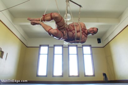 Photo number 5 from Fabio Stallone - Beefy Italian Stallion with Fat Cock  shot for Men On Edge on Kink.com. Featuring Fabio Stallone in hardcore BDSM & Fetish porn.