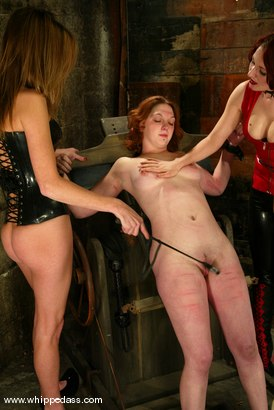 Photo number 10 from Ginger, Audrey Leigh and Sonya shot for Whipped Ass on Kink.com. Featuring Ginger, Audrey Leigh and Sonya in hardcore BDSM & Fetish porn.