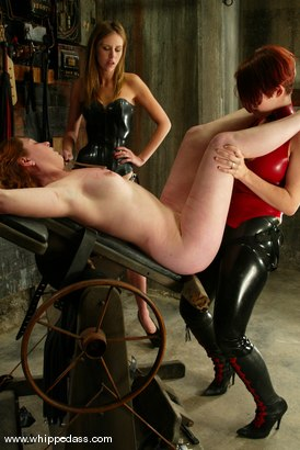 Photo number 12 from Ginger, Audrey Leigh and Sonya shot for Whipped Ass on Kink.com. Featuring Ginger, Audrey Leigh and Sonya in hardcore BDSM & Fetish porn.