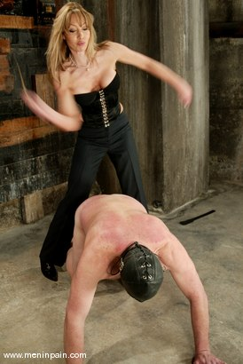 Photo number 12 from Janay and Slave shot for Men In Pain on Kink.com. Featuring Janay and Slave in hardcore BDSM & Fetish porn.