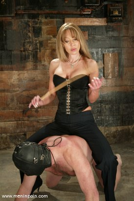 Photo number 8 from Janay and Slave shot for Men In Pain on Kink.com. Featuring Janay and Slave in hardcore BDSM & Fetish porn.