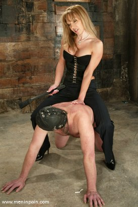 Photo number 15 from Janay and Slave shot for Men In Pain on Kink.com. Featuring Janay and Slave in hardcore BDSM & Fetish porn.