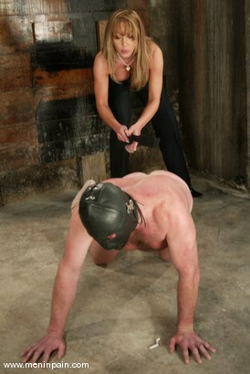 Photo number 7 from Janay and Slave shot for Men In Pain on Kink.com. Featuring Janay and Slave in hardcore BDSM & Fetish porn.