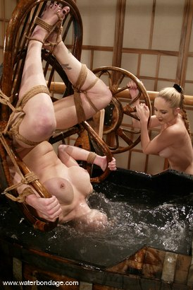Photo number 9 from Adrianna Nicole shot for Water Bondage on Kink.com. Featuring Adrianna Nicole in hardcore BDSM & Fetish porn.