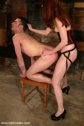 Photo number 13 from Kendra James and Richie Rennt shot for Men In Pain on Kink.com. Featuring Kendra James and Richie Rennt in hardcore BDSM & Fetish porn.