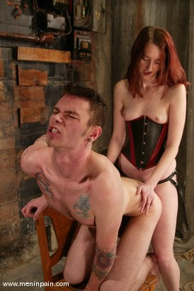 Photo number 12 from Kendra James and Richie Rennt shot for Men In Pain on Kink.com. Featuring Kendra James and Richie Rennt in hardcore BDSM & Fetish porn.