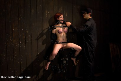 Photo number 10 from Bountiful Breasts with a Rose Red Complexion shot for Device Bondage on Kink.com. Featuring Iona Grace in hardcore BDSM & Fetish porn.
