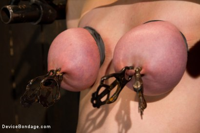 Photo number 11 from Bountiful Breasts with a Rose Red Complexion shot for Device Bondage on Kink.com. Featuring Iona Grace in hardcore BDSM & Fetish porn.