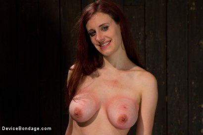 Photo number 15 from Bountiful Breasts with a Rose Red Complexion shot for Device Bondage on Kink.com. Featuring Iona Grace in hardcore BDSM & Fetish porn.