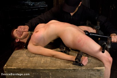 Photo number 3 from Bountiful Breasts with a Rose Red Complexion shot for Device Bondage on Kink.com. Featuring Iona Grace in hardcore BDSM & Fetish porn.