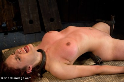 Photo number 4 from Bountiful Breasts with a Rose Red Complexion shot for Device Bondage on Kink.com. Featuring Iona Grace in hardcore BDSM & Fetish porn.