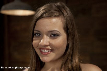 Photo number 1 from Take Down Challenge for Adorable 19 Year Old shot for Bound Gang Bangs on Kink.com. Featuring Ashlynn Leigh, James Deen, Christian Wilde, Mykal Caine, Sebastian Keys and John Strong in hardcore BDSM & Fetish porn.