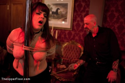 Photo number 10 from Stefanos' Brunch shot for The Upper Floor on Kink.com. Featuring Maestro Stefanos, Skin Diamond and Juliette March in hardcore BDSM & Fetish porn.