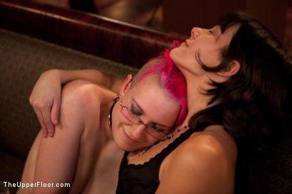 Photo number 11 from Stefanos' Brunch shot for The Upper Floor on Kink.com. Featuring Maestro Stefanos, Skin Diamond and Juliette March in hardcore BDSM & Fetish porn.