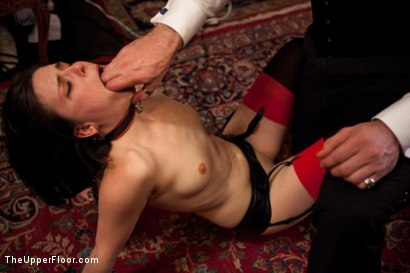 Photo number 6 from Stefanos' Brunch shot for The Upper Floor on Kink.com. Featuring Maestro Stefanos, Skin Diamond and Juliette March in hardcore BDSM & Fetish porn.
