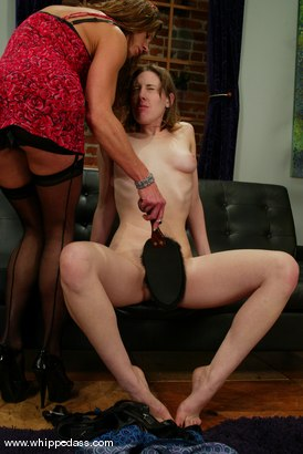 Photo number 4 from Holly, ElectroBoy and Kym Wilde shot for Whipped Ass on Kink.com. Featuring Holly, ElectroBoy and Kym Wilde in hardcore BDSM & Fetish porn.