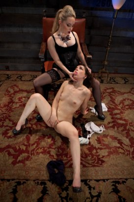 Photo number 1 from Humiliation 101 with Aiden Starr and Juliette March shot for Kink University on Kink.com. Featuring Aiden Starr and Juliette March in hardcore BDSM & Fetish porn.