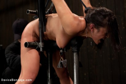 Photo number 8 from She looks hotter in bondage shot for Device Bondage on Kink.com. Featuring Adrianna Luna in hardcore BDSM & Fetish porn.