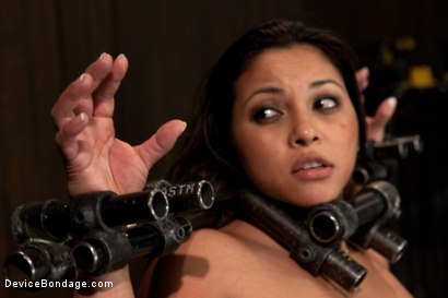 Photo number 13 from She looks hotter in bondage shot for Device Bondage on Kink.com. Featuring Adrianna Luna in hardcore BDSM & Fetish porn.