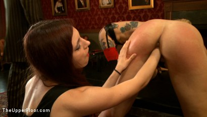 Photo number 18 from New Tramp in Town shot for The Upper Floor on Kink.com. Featuring Dylan Ryan, Krysta Kaos and Iona Grace in hardcore BDSM & Fetish porn.