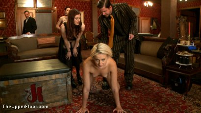 Photo number 19 from New Tramp in Town shot for The Upper Floor on Kink.com. Featuring Dylan Ryan, Krysta Kaos and Iona Grace in hardcore BDSM & Fetish porn.
