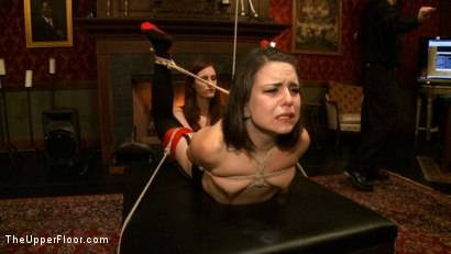 Photo number 12 from Pleasing Iona shot for The Upper Floor on Kink.com. Featuring Juliette March and Iona Grace in hardcore BDSM & Fetish porn.