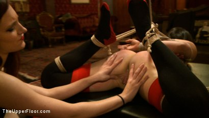 Photo number 14 from Pleasing Iona shot for The Upper Floor on Kink.com. Featuring Juliette March and Iona Grace in hardcore BDSM & Fetish porn.