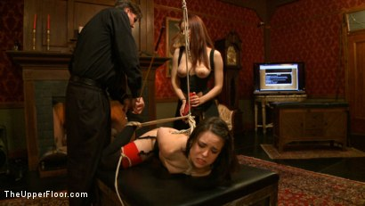Photo number 15 from Pleasing Iona shot for The Upper Floor on Kink.com. Featuring Juliette March and Iona Grace in hardcore BDSM & Fetish porn.