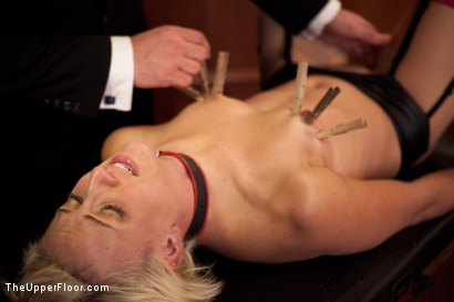 Photo number 5 from Service Session shot for The Upper Floor on Kink.com. Featuring Dylan Ryan and Maestro Stefanos in hardcore BDSM & Fetish porn.