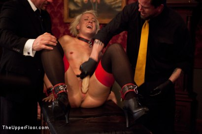 Photo number 7 from Service Session shot for The Upper Floor on Kink.com. Featuring Dylan Ryan and Maestro Stefanos in hardcore BDSM & Fetish porn.