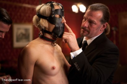 Photo number 15 from Service Session shot for The Upper Floor on Kink.com. Featuring Dylan Ryan and Maestro Stefanos in hardcore BDSM & Fetish porn.