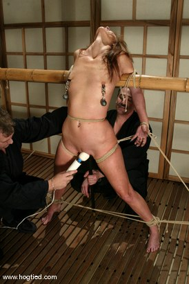 Photo number 14 from Lew Rubens and Maria Shadoes shot for Hogtied on Kink.com. Featuring Lew Rubens and Maria Shadoes in hardcore BDSM & Fetish porn.