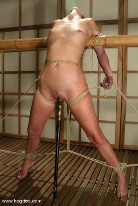 Photo number 15 from Lew Rubens and Maria Shadoes shot for Hogtied on Kink.com. Featuring Lew Rubens and Maria Shadoes in hardcore BDSM & Fetish porn.