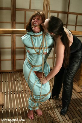 Photo number 10 from Teager, Maria Shadoes and Bridgett Harrington shot for Hogtied on Kink.com. Featuring Maria Shadoes, Bridgett Harrington and Teager in hardcore BDSM & Fetish porn.