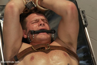 Photo number 13 from Dr Parker London and His Unwilling Patient shot for Bound Gods on Kink.com. Featuring Parker London and Trent Diesel in hardcore BDSM & Fetish porn.