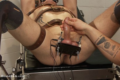 Photo number 10 from Dr Parker London and His Unwilling Patient shot for Bound Gods on Kink.com. Featuring Parker London and Trent Diesel in hardcore BDSM & Fetish porn.