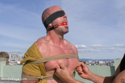 Photo number 3 from Mitch Vaughn - The Muscle Stud shot for Men On Edge on Kink.com. Featuring Mitch Vaughn in hardcore BDSM & Fetish porn.