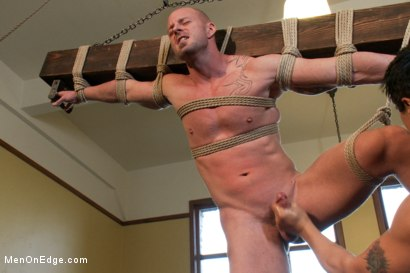 Photo number 12 from Mitch Vaughn - The Muscle Stud shot for Men On Edge on Kink.com. Featuring Mitch Vaughn in hardcore BDSM & Fetish porn.