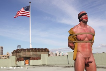 Photo number 6 from Mitch Vaughn - The Muscle Stud shot for Men On Edge on Kink.com. Featuring Mitch Vaughn in hardcore BDSM & Fetish porn.