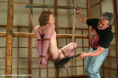 Photo number 2 from Lew Rubens and Madison Young shot for Water Bondage on Kink.com. Featuring Lew Rubens and Madison Young in hardcore BDSM & Fetish porn.
