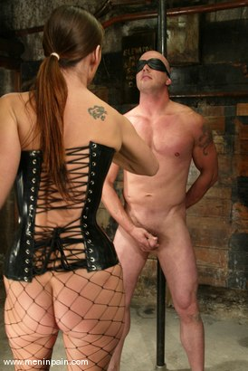 Photo number 2 from Nick Nite and Venus shot for Men In Pain on Kink.com. Featuring Nick Nite and Venus in hardcore BDSM & Fetish porn.