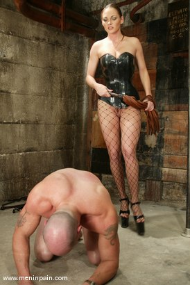 Photo number 8 from Nick Nite and Venus shot for Men In Pain on Kink.com. Featuring Nick Nite and Venus in hardcore BDSM & Fetish porn.