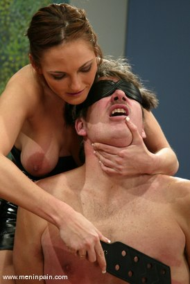 Photo number 5 from Venus and Rider shot for Men In Pain on Kink.com. Featuring Venus and Rider in hardcore BDSM & Fetish porn.