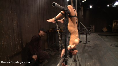 Photo number 13 from Inverted Nipple Stretch Infused Orgasm Station shot for Device Bondage on Kink.com. Featuring Beretta James in hardcore BDSM & Fetish porn.