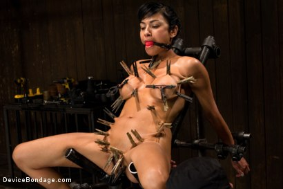 Photo number 1 from Wet, Distraught and Wrecked shot for Device Bondage on Kink.com. Featuring Beretta James in hardcore BDSM & Fetish porn.