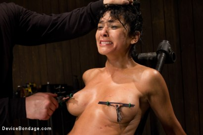 Photo number 14 from Wet, Distraught and Wrecked shot for Device Bondage on Kink.com. Featuring Beretta James in hardcore BDSM & Fetish porn.