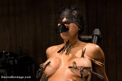 Photo number 5 from Wet, Distraught and Wrecked shot for Device Bondage on Kink.com. Featuring Beretta James in hardcore BDSM & Fetish porn.
