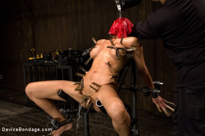 Photo number 7 from Wet, Distraught and Wrecked shot for Device Bondage on Kink.com. Featuring Beretta James in hardcore BDSM & Fetish porn.